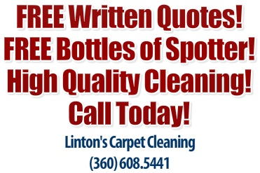 Lintons Green Carpet Cleaning Vancouver Wa.