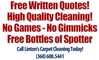 Lintons Residential Carpet Cleaning Vancouver Wa.