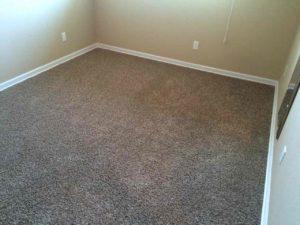 Carpet after stretching. Wrinkles gone.