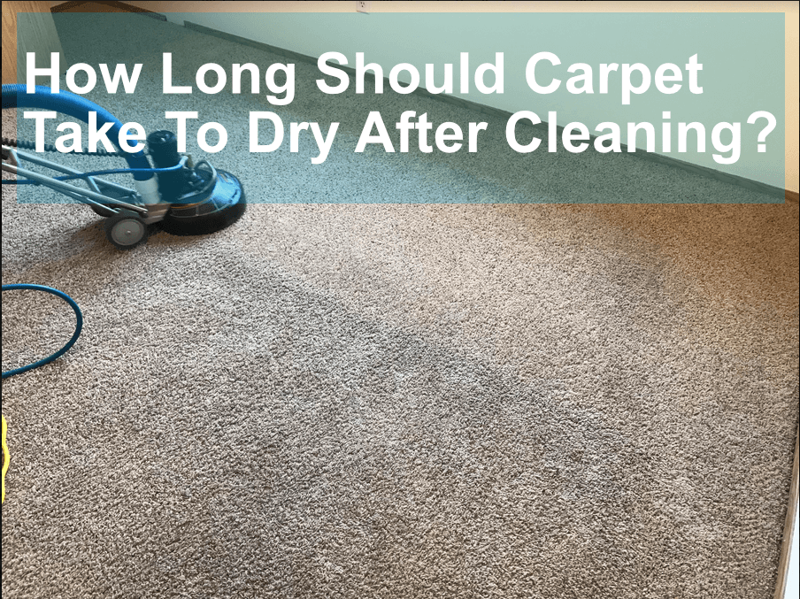 How Long Should Carpets Take To Dry After Cleaning Vancouver Carpet Cleaning