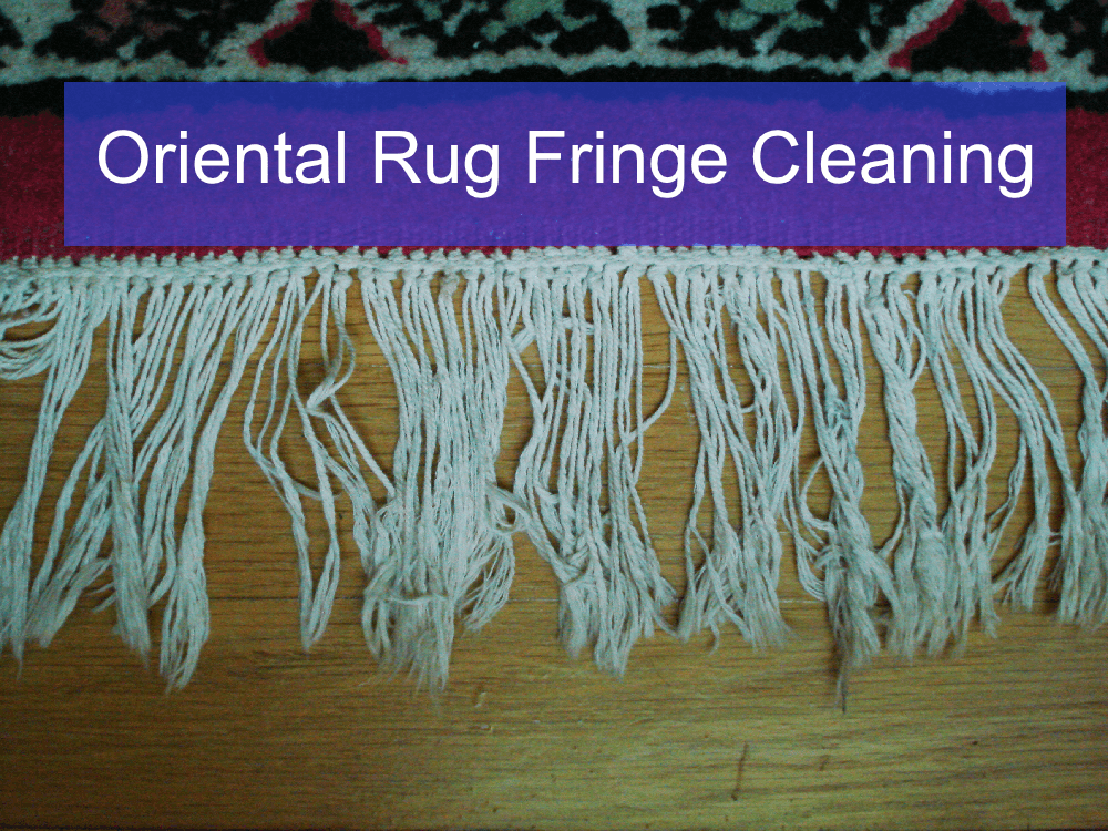 Rug Fringe Cleaning In Vancouver