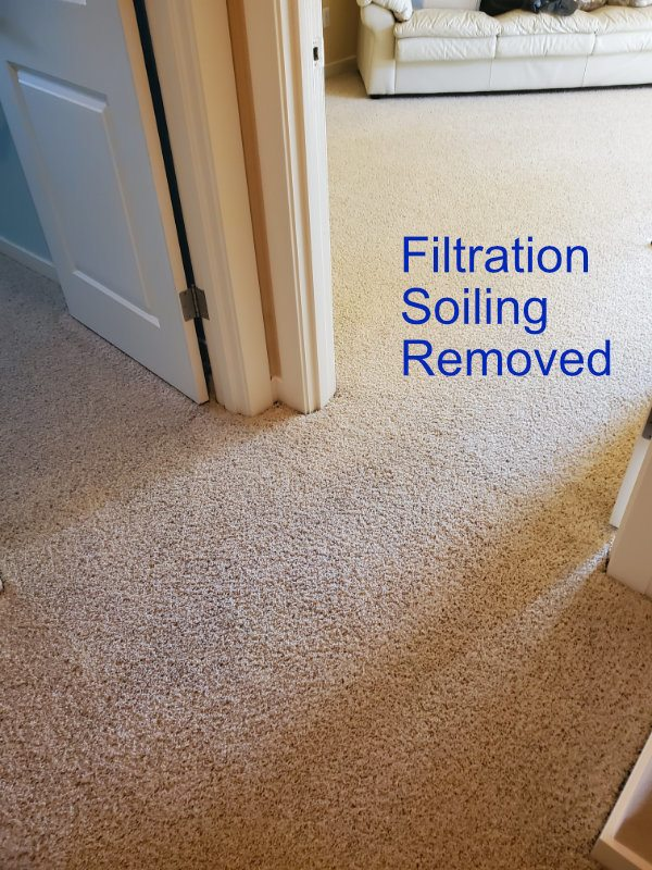 Filtration Soil Carpet Cleaning in Vancouver, Wa.