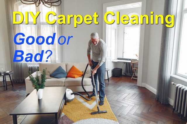 DIY carpet cleaning can lead to many problems