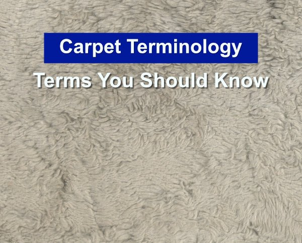 Carpet Terms You Should Know
