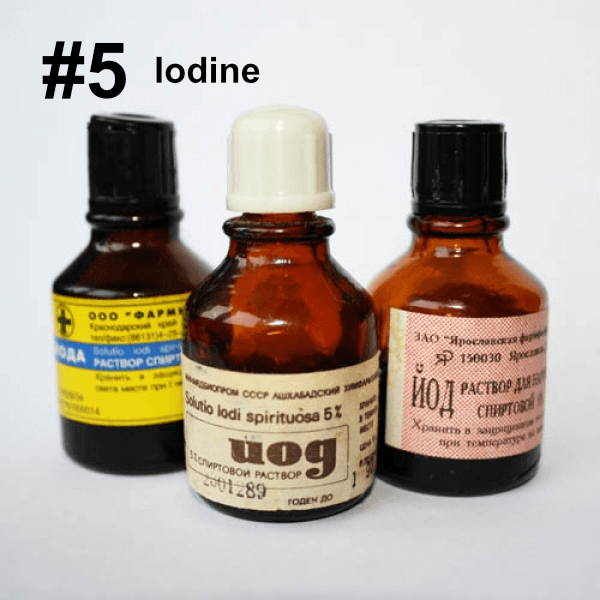 Iodine Stain Removal Vancouver, Washington